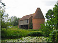 TQ8143 : Oast House at Place Farm, Water Lane, Headcorn, Kent by Oast House Archive