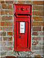 TM3976 : Victorian Wallbox at Mells Bridge, near Halesworth by Adrian S Pye