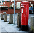 J3775 : Pillar box, Belfast by Albert Bridge