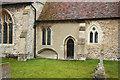 TL4137 : St Nicholas, Little Chishill by John Salmon