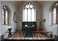 TL4238 : St Swithun, Great Chishill - Sanctuary by John Salmon