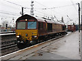 SE5703 : Doncaster station: southbound freight by Stephen Craven
