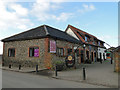 TM0587 : The Barrel public house up for sale near Banham Zoo by Adrian S Pye