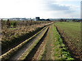 TL5754 : On Old Cambridge Road by John Sutton
