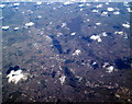 TQ3287 : Lea Valley Reservoirs from the air by Thomas Nugent