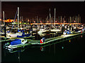 J5082 : Bangor Marina at night by Rossographer
