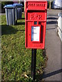 TM2750 : Hall Farm Road Postbox by Adrian Cable