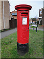 TM5190 : Edward VII pillar postbox in Carlton Colville by Adrian S Pye