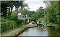 SO9868 : Tardebigge  Lock No 53 and cottage, Worcestershire by Roger  Kidd