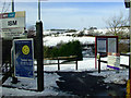 NS2374 : IBM railway station by Thomas Nugent