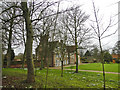 TM3192 : Hedenham Hall from the road (B1332) by Adrian S Pye