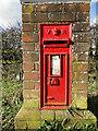 TG0224 : Victorian pillar postbox by Adrian S Pye
