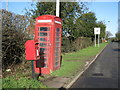 SP1694 : Classic Telephone Box and Letter Box by Michael Westley