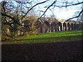 TQ2992 : Railway viaduct, Arnos Park by David Howard