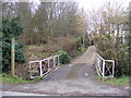 TM3569 : Footpath to Mill Hill & entrance to Lane House by Adrian Cable
