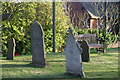 SK2707 : St Mary the Virgin, Church Graveyard  (10) by Chris' Buet
