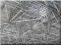 NT2573 : Roof scaffolding inside Waverley Station : Week 7
