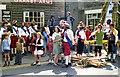 SD9905 : Saddleworth Rushcart Festival 1976 by David Dixon
