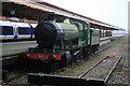 SP0786 : Birmingham Moor Street Station - preserved locomotive by Chris Allen