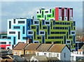 TQ8885 : Southend student accommodation building : Week 7