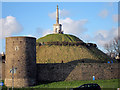TR1457 : Dane John mound by Oast House Archive