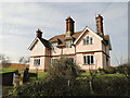 TM4066 : Fordley Hall, North Green, near Saxmundham by Adrian S Pye