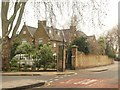 Dist:0.1km<br/>Many gables adorn the C19 brick rectory http://www.britishlistedbuildings.co.uk/en-206352-st-dunstan-s-rectory-stepney , situated between White Horse Lane (right) and Rectory Square.