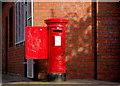 J3874 : Pillar box, Belfast by Albert Bridge