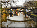 SD7400 : Bridgewater Canal Footbridge, Worsley by David Dixon