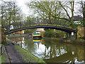 SD7400 : Bridgwater Canal footbridge by Richard Croft