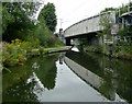 SP0482 : Railway bridge No 81 near Selly Oak, Birmingham by Roger  Kidd