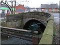 SE3110 : Darton - River Dearne bridge on Church Street by Dave Bevis
