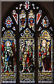 TL3844 : All Saints, Melbourn - Stained glass window by John Salmon