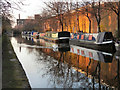 SJ7698 : Bridgewater Canal, Barton Business Park by David Dixon