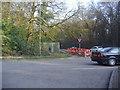 SU9689 : Potkiln Lane at junction of A40 by David Howard