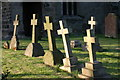 SK2607 : All Saints Church, Graveyard  (10) by Chris' Buet