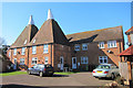TQ6745 : Nettlestead Oast, Maidstone Road, Paddock Wood, Kent by Oast House Archive
