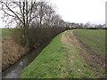 TL5175 : Grunty Fen Catchwater drain by Hugh Venables