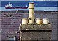 J5082 : Chimney pots, Bangor by Rossographer