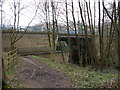 SJ7984 : Bridge over the River Bollin on the M56 by Ian Paterson