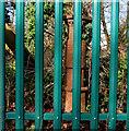 J3974 : Boundary post, east Belfast (1) by Albert Bridge