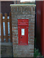 SK8096 : Gunthorpe Main Street postbox ref: DN9 232 by Alan Murray-Rust