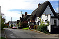 SP7330 : The Thatched Inn and Restaurant in Adstock village by Cameraman