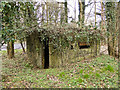 TM4576 : Pillbox at the junction of the A12 and A1095 by Adrian S Pye