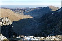 SH7063 : Cwm Eigiau from Craig yr Ysfa by Gareth Jones