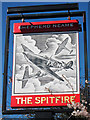 TQ6755 : The Spitfire sign by Oast House Archive