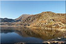 SH7255 : Unnamed Lake Under Carnedd Moel Siabod by Gareth Jones