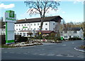 SJ8182 : Hotel on Wilmslow Road, Ringway by Anthony O'Neil