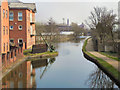 SJ6599 : Bridgewater Canal, Leigh by David Dixon