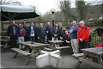 SK2958 : Geograph-ers meet at Matlock Bath by Alan Murray-Rust
